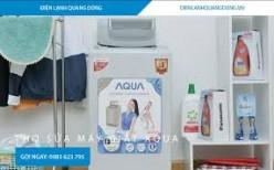 bảo hành máy giặt aqua
